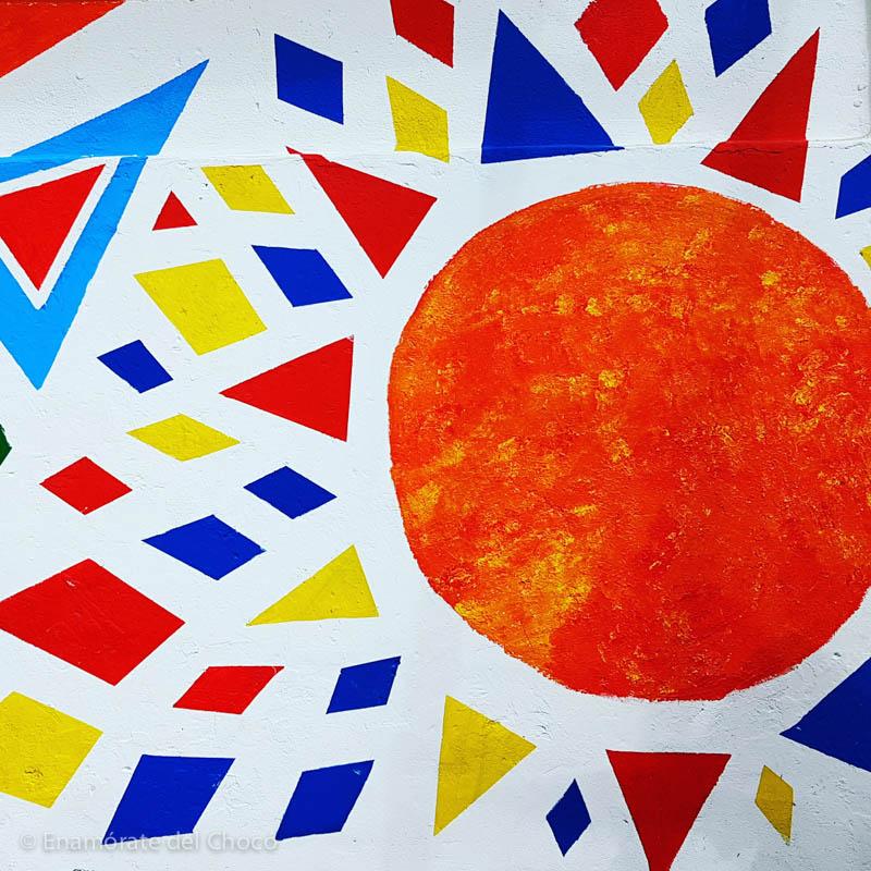 homenaje a la bandera de Colombia